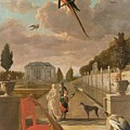 Park With Country House, Jan Weenix, 1670 - 1719 by Jan Weenix