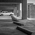 Parked In Black And White by Imagery by Charly