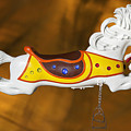 Parker Flying Carousel Horse 1 by Kelley King