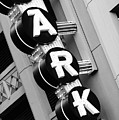 Parking Neon B W 060818 by Rospotte Photography