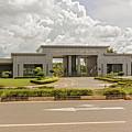 Parliament Building In Lilongwe by Marek Poplawski
