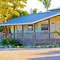 Parmer's Resort Cottage In Keys Sunset Glow by Ginger Wakem