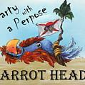 Parrot Heads by Janette Legg