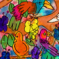 Parrots by Nick Abrams Age Nine