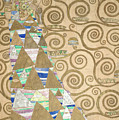Part Of The Tree Of Life, Part 2 by Gustav Klimt