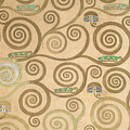 Part Of The Tree Of Life, Part 7 by Gustav Klimt