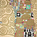 Part Of The Tree Of Life, Part 8 by Gustav Klimt