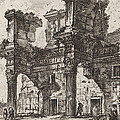 Parte Di Foro Di Nerva by Giovanni Battista Piranesi