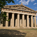 Parthenon Nashville Tennessee From The Shade by Douglas Barnett