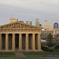 Parthenon With Nashville Skyline  by Jeremy Holmes