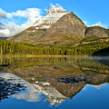 Partly Cloudy Fishercap Reflections by Adam Jewell