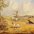 Partridge Shooting  by Henry Thomas Alken