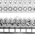 Pascal's Calculator, 17th Century Artwork by Library Of Congress