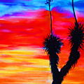 Paso Del Norte Sunset 1 by Melinda Etzold