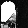Passage To The Louvre by Chuck Kuhn