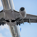 Passenger Jet Coming In For Landing 7 by PhotoStock-Israel