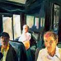 Passenger Train by Bob Dornberg