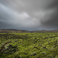 Passing Clouds Over Lava Fields  by Michael Ver Sprill