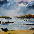 Passing Storm At Lahinch by Wilfred McOstrich