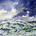 Passing Storm At The Blaskets  by Wilfred McOstrich