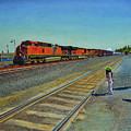 Passing Train by Thu Nguyen