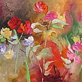 Passion In The Garden by Linda Monfort