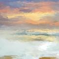 Pastel Beach Mornning by Anthony Fishburne