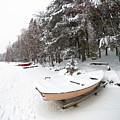 Pastel Boat by Jouko Lehto