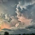 Pastel Clouds by Walt Foegelle