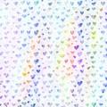 Pastel Hearts by Sharon Johnston