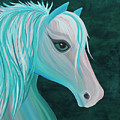 Pastel Horse by Nicole Paquette