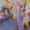 Pastel Leaves by Don Zawadiwsky