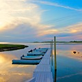 Pastel Reflections On Cape Cod by Amazing Jules