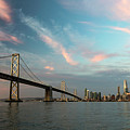 Pastel San Francisco Sunrise by Hugh Stickney
