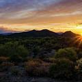 Pastel Sonoran Skies  by Saija Lehtonen
