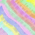 Pastel Stripes Angled by Susan Stevenson