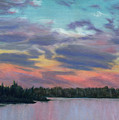 Pastel Sunset by Lynn Quinn