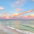 Pastel Sunset On Sanibel Island by Jeff Breiman