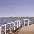 Pastel Tone Sea Pier Landscape by Jorgo Photography - Wall Art Gallery