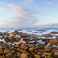 Pastel Tone Seaside Sunrise by Jorgo Photography - Wall Art Gallery