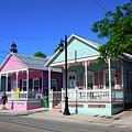 Pastels Of Key West by Susanne Van Hulst
