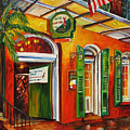 Pat O'brien's Bar On Bourbon Street by Diane Millsap