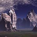 Patagonian Mountain  by Heinz G Mielke