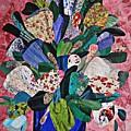 Patchwork Bouquet by Sarah Loft