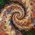 Patchwork Spiral by Richard Ortolano
