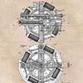 patent art Edison 1888 Phonograph by Justyna JBJart