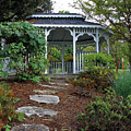 Path To The Gazebo by Todd Blanchard