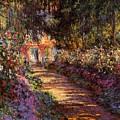 Pathway In Monet's Garden by Claude Monet
