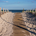 Pathway To Beach Seaside New Jersey by Terry DeLuco