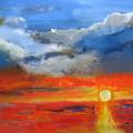 Pathway To The Sun by Melody Horton Karandjeff
